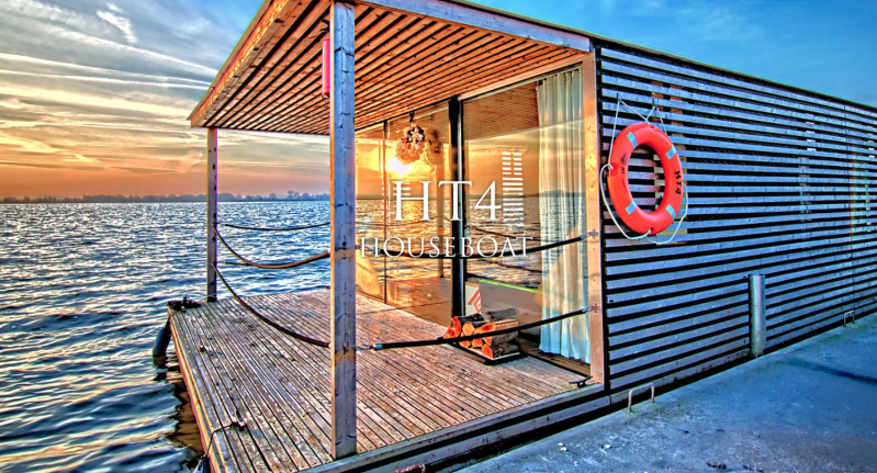 Woonboot HT 4 House boat
