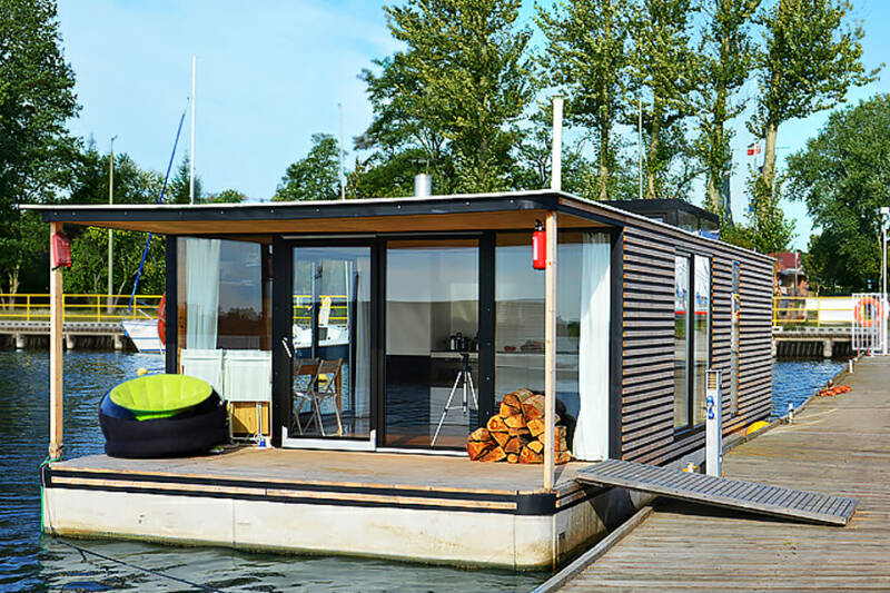 Woonboot HT 6 House boat