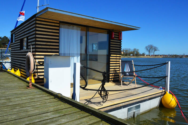 Woonboot HT 8 House boat