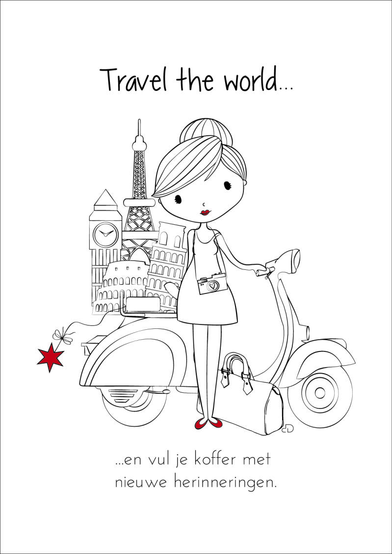 Travel the world...