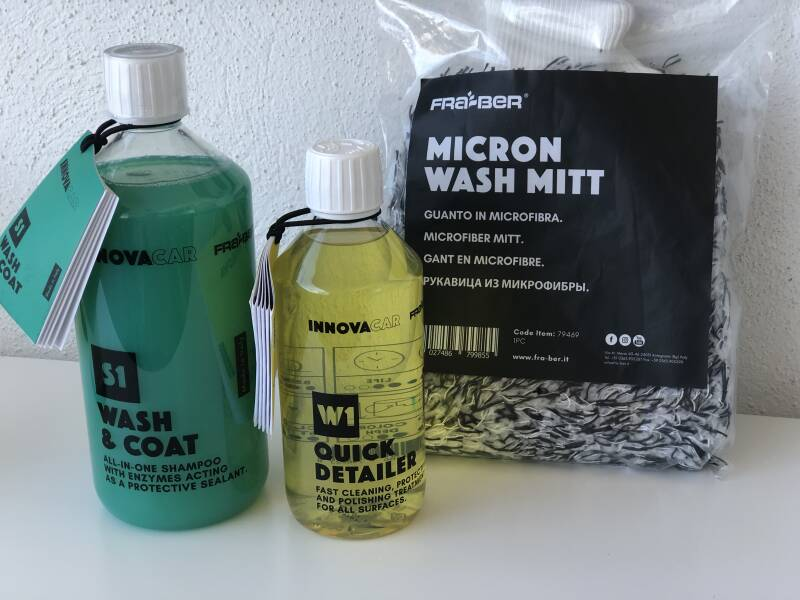Wash package basic nr 2 of InnovaCar by Fra-Ber