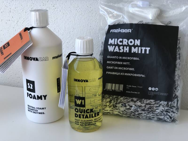 Wash Package Basic nr 3 InnovaCar by Fra-Ber