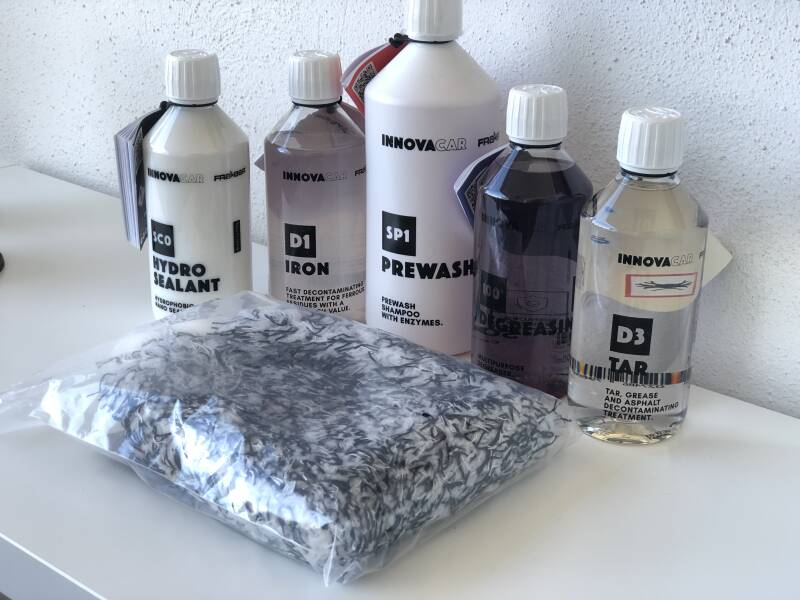 Wash Package Deluxe nr 1, InnovaCar by Fra-Ber