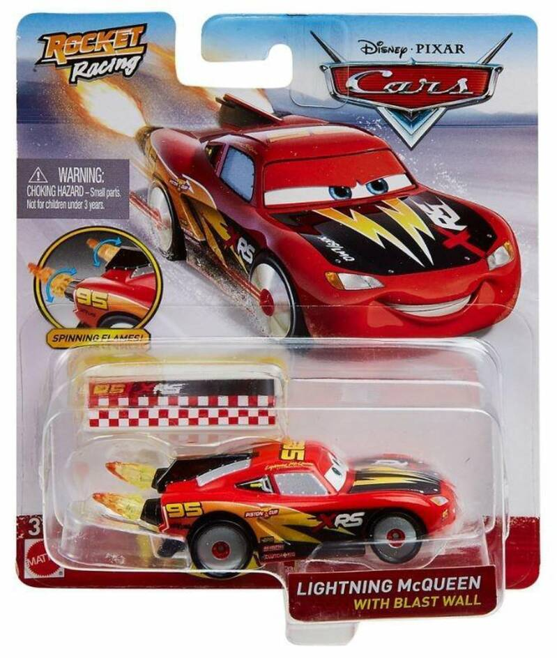 Disney Cars XRS Rocket Racing - Lightning Mcqueen