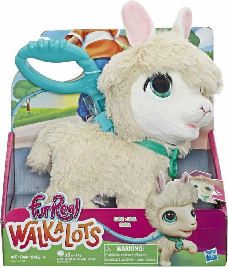 Furreal Walkalots Big Wag Trend Pet Llama
