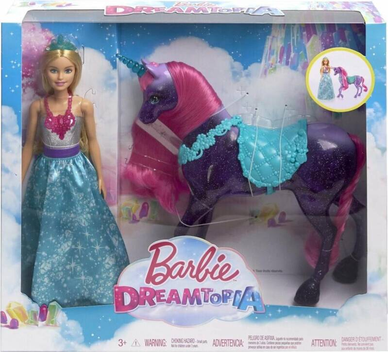 Barbie Dreamtopia Pop en Unicorn