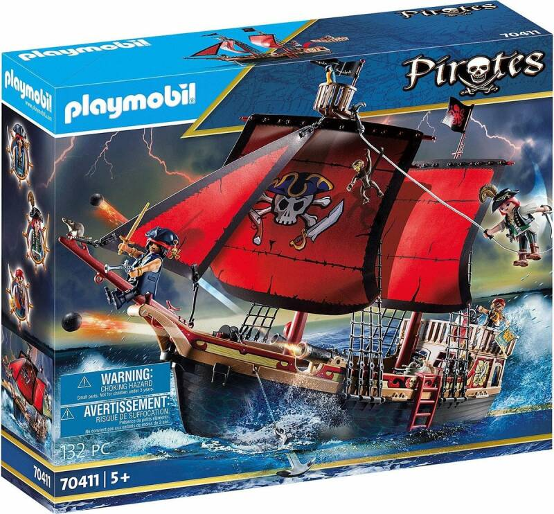 PLAYMOBIL Piratenschip - 70411