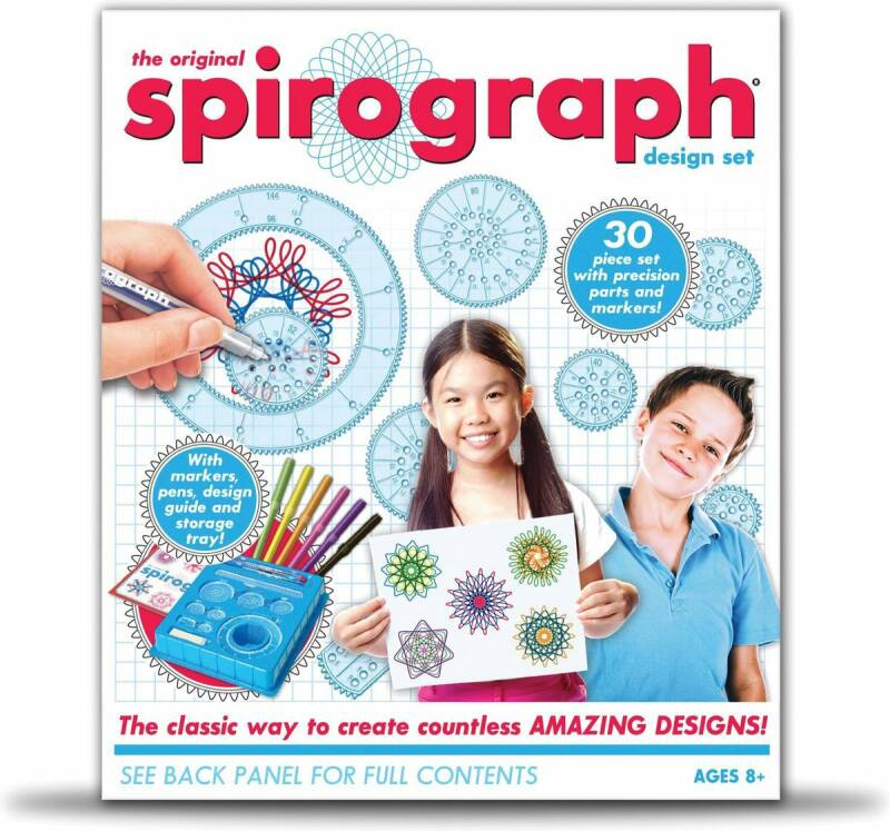 Spirograaf - Design Set In Een Doos