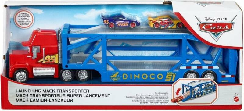 Disney Cars Launching Mack Transporter