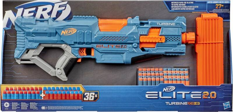 NERF Elite 2.0 Turbine CS 18 - Blaster