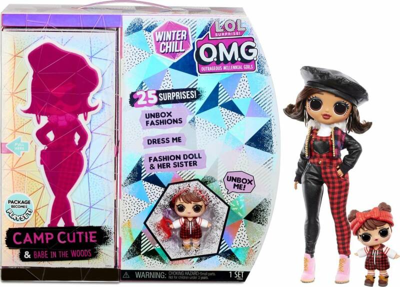 L.O.L. Surprise! OMG Winter Chill - Camp Cutie en Babe in the Woods