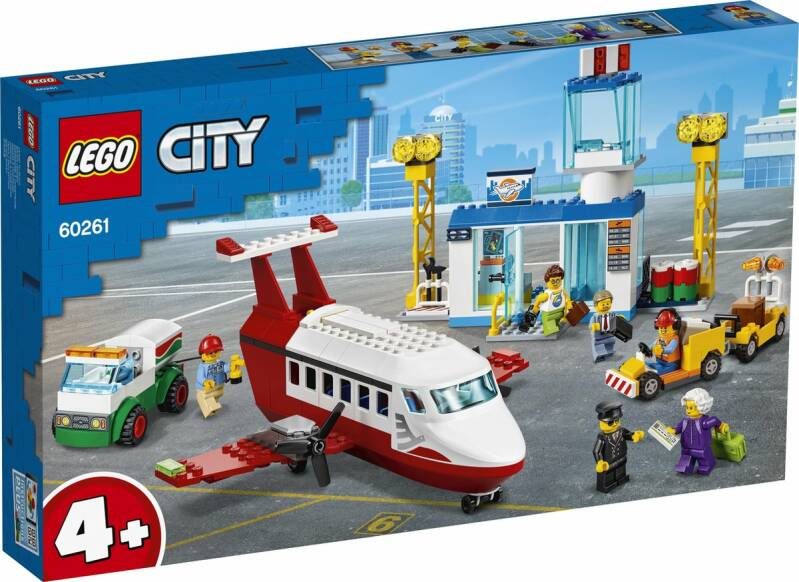 LEGO City 4+ Centrale Luchthaven - 60261