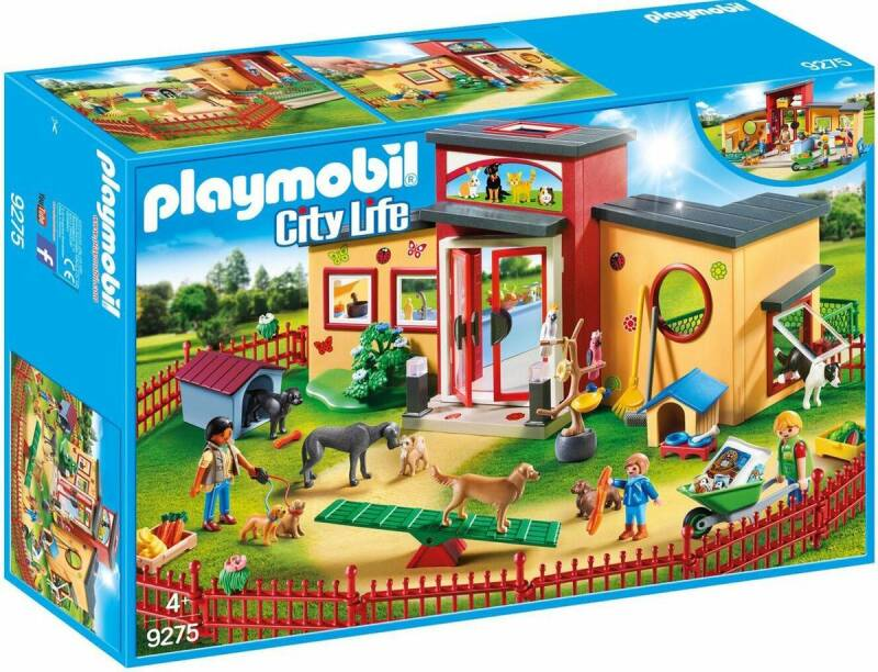 PLAYMOBIL City Life Dierenpension - 9275