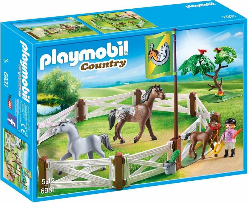 PLAYMOBIL Country Paardenweide - 6931