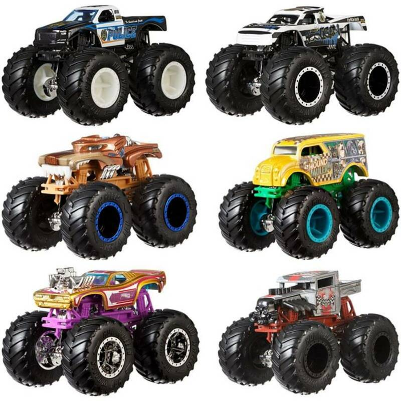 Hot Wheels Monster Trucks 1:64 (Assortiment)