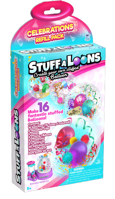 Stuff-A-Loons Celebrations Navulpakket