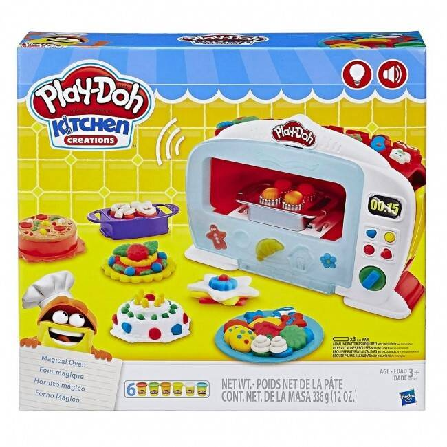 Play-Doh Kitchen Creations magische oven