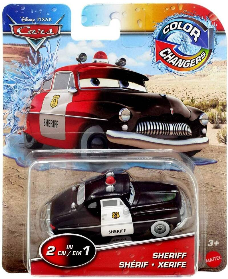 Disney Pixar Cars Color Changers 2-in-1 - Sheriff