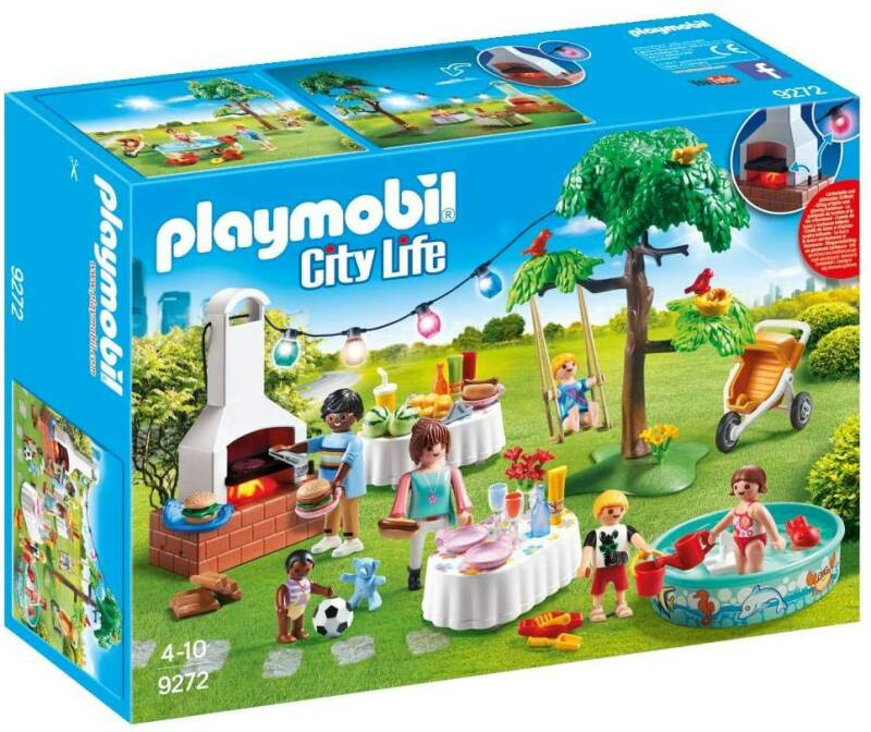 PLAYMOBIL City Life Familiefeest met barbecue - 9272