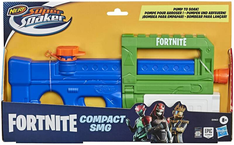 NERF Fortnite SuperSoaker Compact SMG