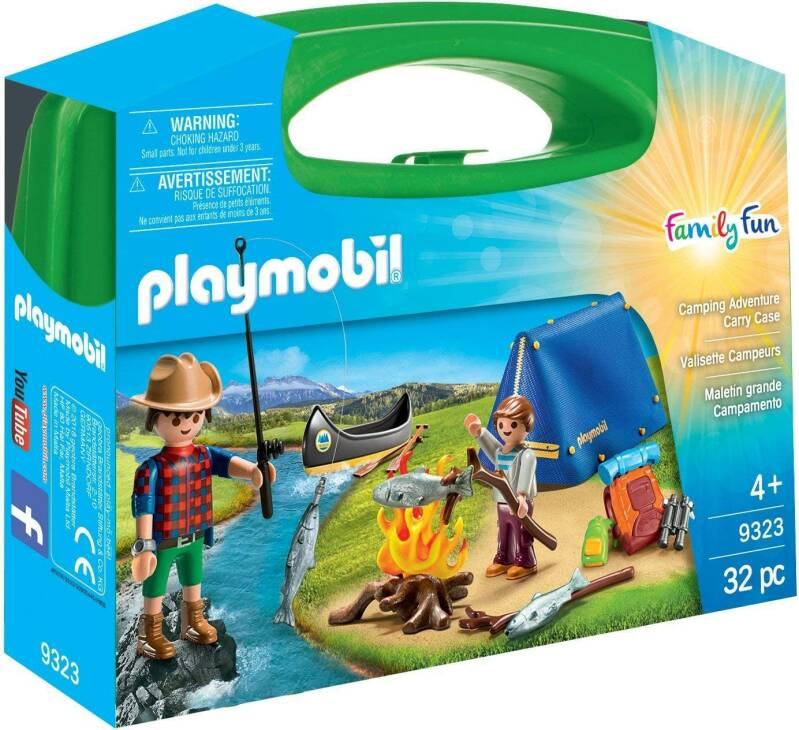 PLAYMOBIL Camping Adventure Kofferset - 9323
