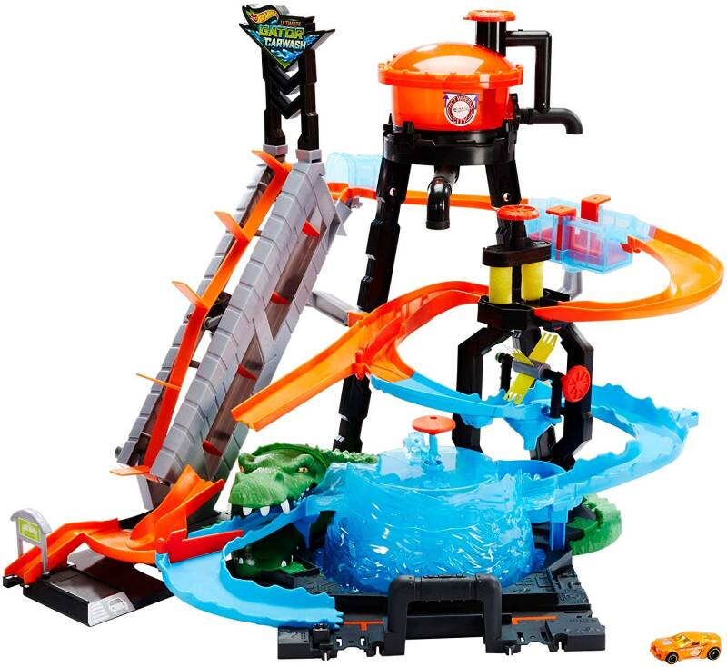 Hot Wheels City Ultimate Car Wash