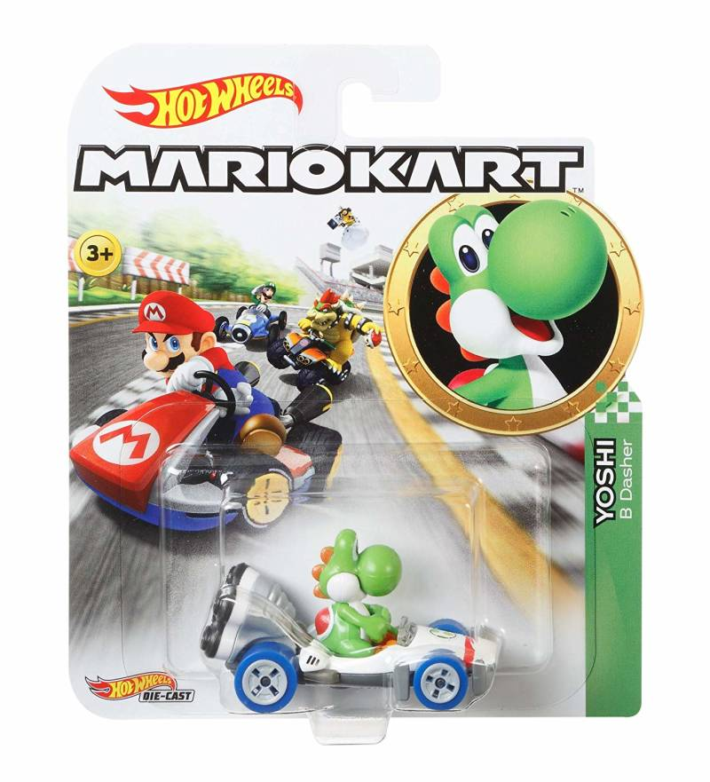 Hot Wheels Mario Kart Replica Die-Cast - Yoshi