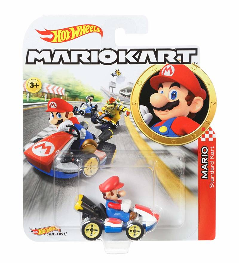 Hot Wheels Mario Kart Replica Die-Cast - Mario