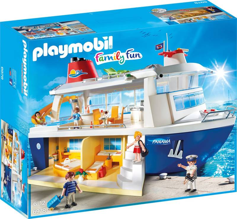 PLAYMOBIL Family Fun: Cruiseschip - 6978