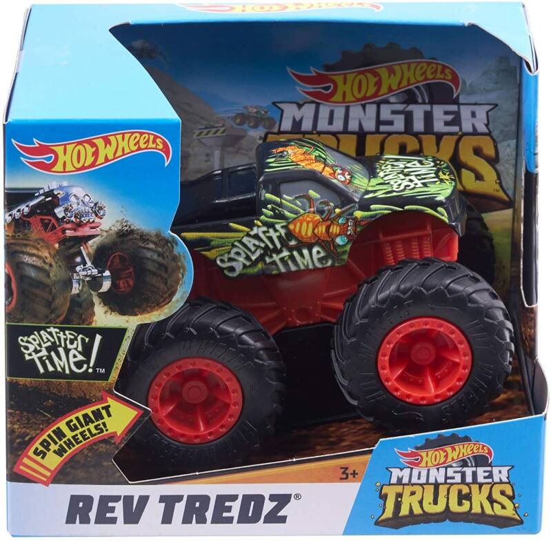 Hot Wheels Monster Trucks 1:43 - Rev Tredz Splatter Time