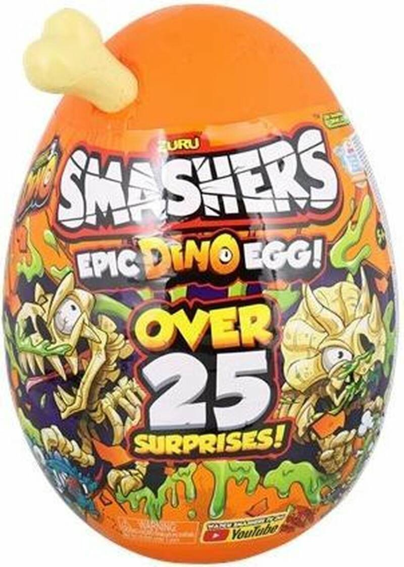 Smashers Series 3 Epic Dino Egg Collectibles
