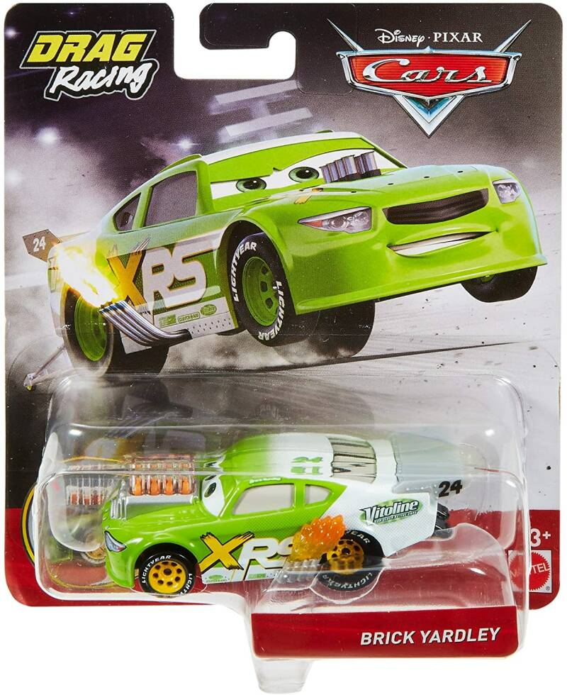 Disney Cars XRS Drag Racing - Brick Yardley