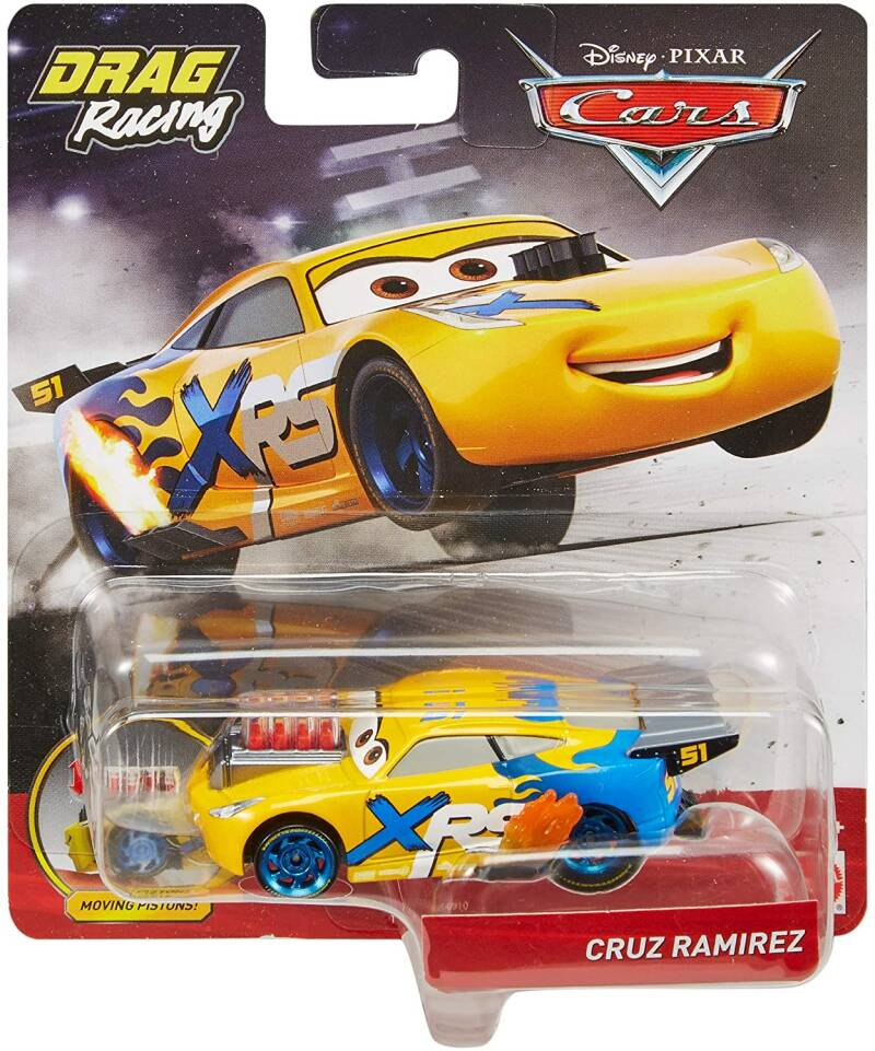 Disney Cars XRS Drag Racing - Cruz Ramirez