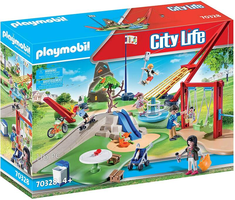 PLAYMOBIL City Life Speelpark - 70328