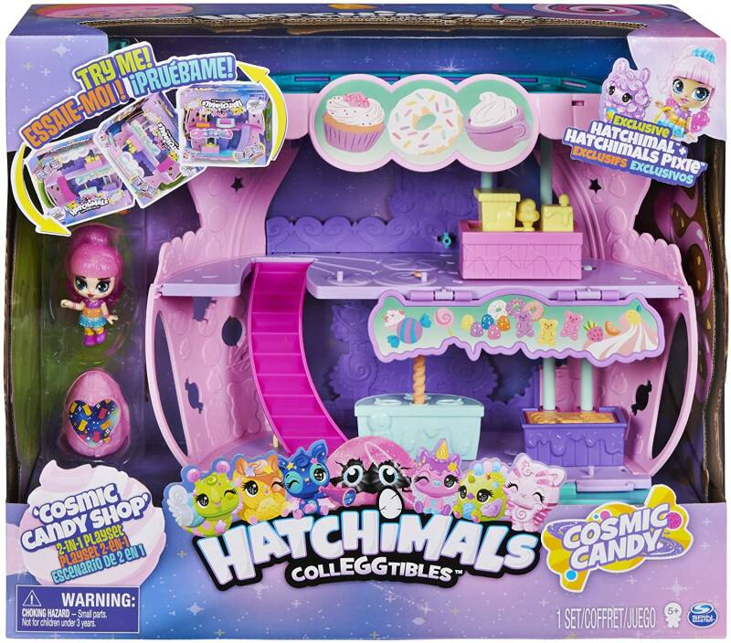 Hatchimals Colleggtibles S8 - 2 in 1 Cosmic Candy Shop