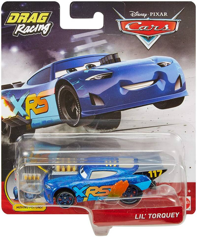 Disney Cars XRS Drag Racing - Lil' Torquey