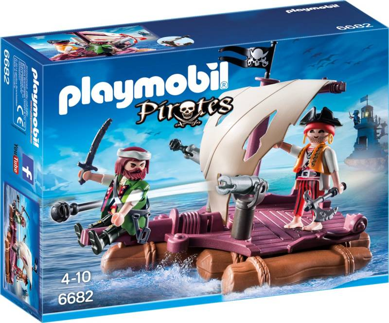 PLAYMOBIL Piratenvlot - 6682