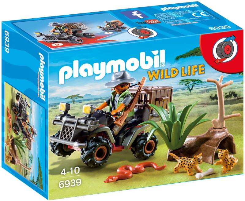 PLAYMOBIL Stroper met quad - 6939