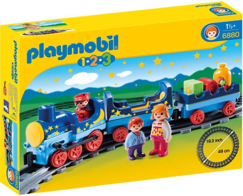 PLAYMOBIL 123 Sterrentrein met passagiers - 6880