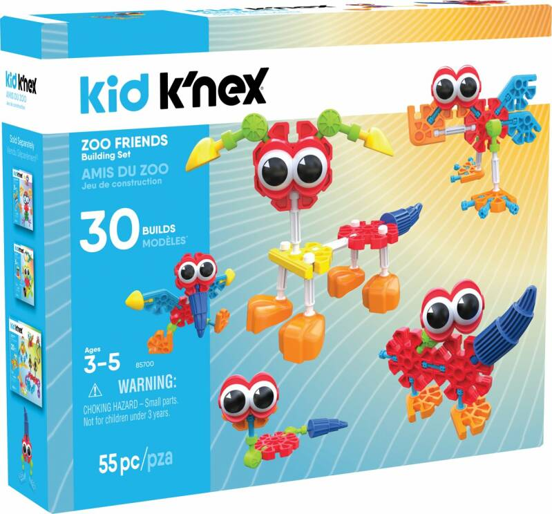 Kid K'NEX Zoo Friends - Bouwset