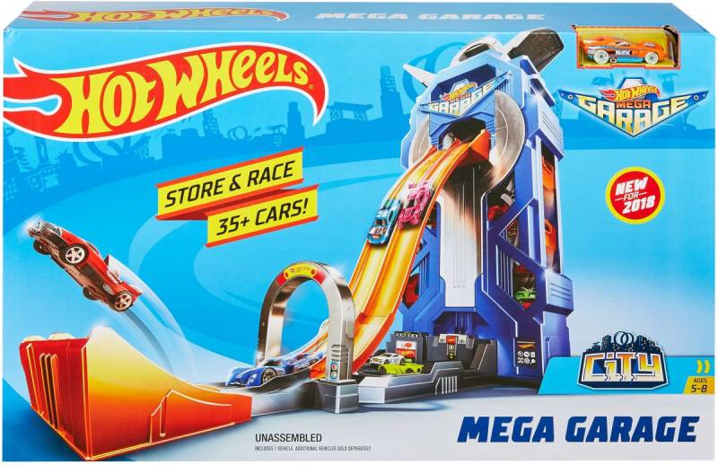 Hot Wheels Ultimate Series Mega Garage - Speelgoedgarage