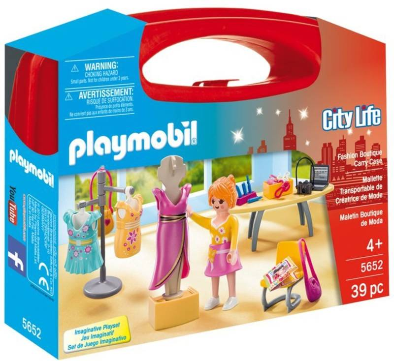 Playmobil City Life Fashion Boutique Carry Case - 5652