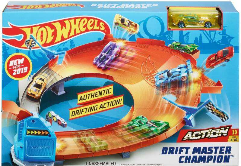 Hot Wheels Action Driftkampioen 3-in-1 Race Rally
