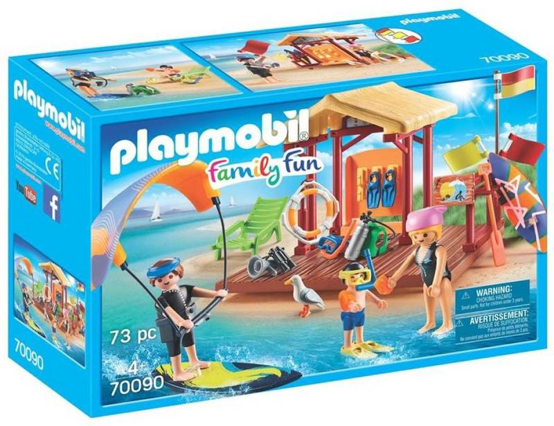 PLAYMOBIL Watersportschool - 70090