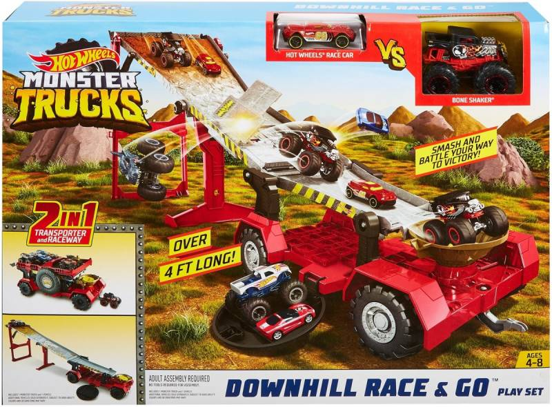 Hot Wheels Monstertrucks Transformeerbare Speelset