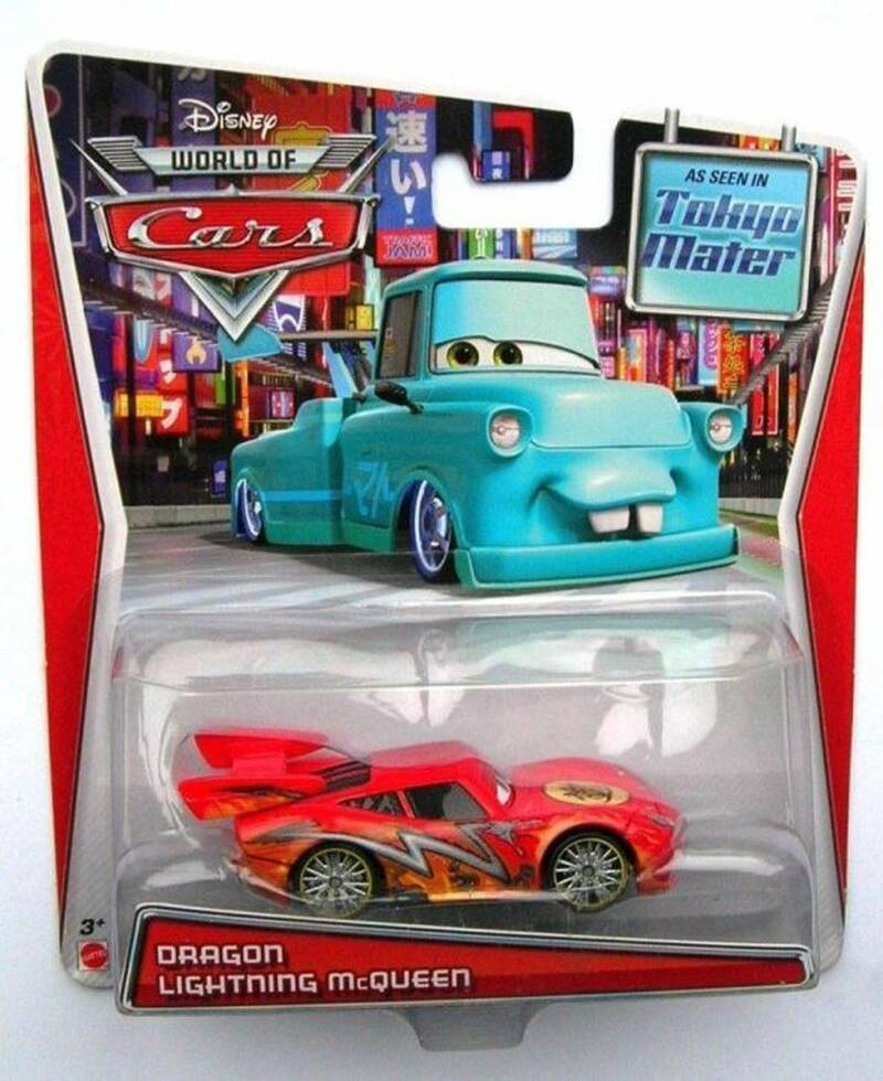 Disney Pixar Cars - Lightning McQueen Dragon Bliksem