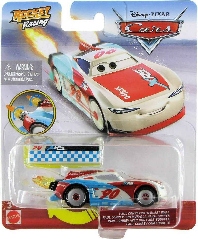 Disney Cars XRS Rocket Racing - Paul Conrev