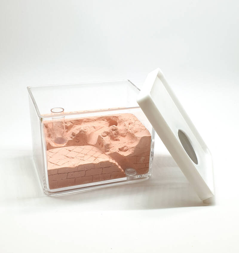 New: square gypsum nest