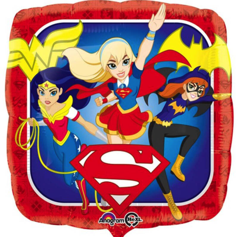 DC Superhero Girls ballon