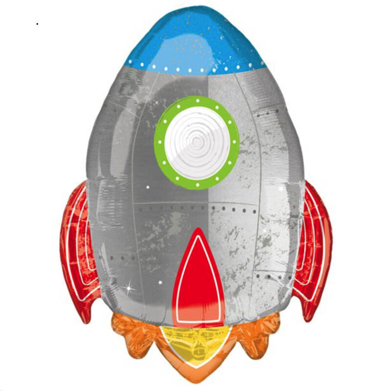 Blast off Supershape ballon -  Space